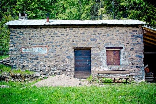 Scale, Hut, Schupf, Alpine Hut, Stone House, Stone Hut