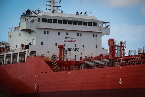 Cargo, Ship, Ocean, Sea, Inland, Anchor, Transport