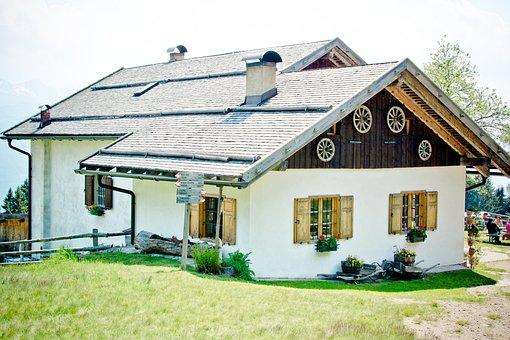 Krabes-alm, Alpine Dairy Farming, Alm, Alpine Hut
