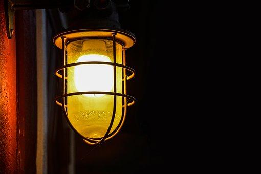 Lantern, Lamp, Halloween, Dark, Light, Night