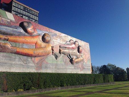 Mural, Green, Garden, Landscape, Campus Perspective