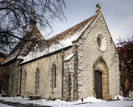 Architectural, Marquette University, Joan Of Arc Chapel