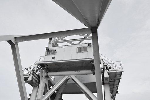 Bridge, Pegasus Bridge, Grey, Metal, Steel, War