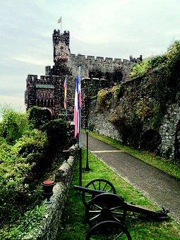 Reichenstein, Middle Ages, Castle, Height Burg, Rhine