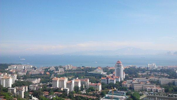 The Scenery, Xiamen, Overlooking The