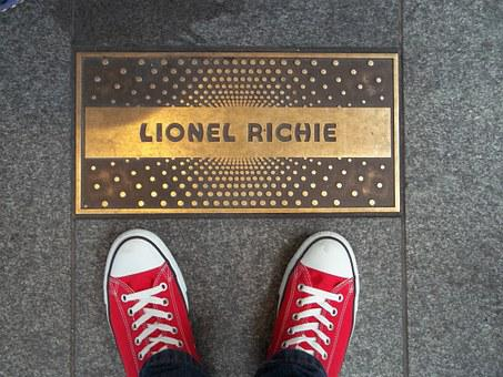 Plaque, Apollo Theater, Shoes, Singer, Lionel Richie
