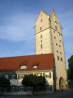 Ravensburg, Untertor, Tower, Downtown