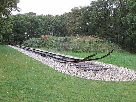 End Point, Monument, Rails, Garden, Remember, Grief