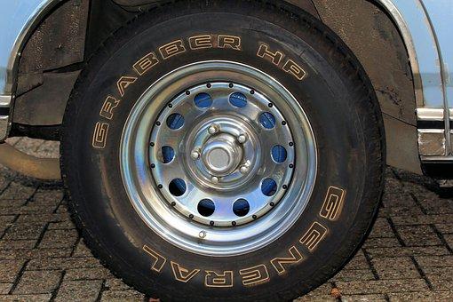 Auto, Oldtimer, Rim, Mature, Us-car, Rarity