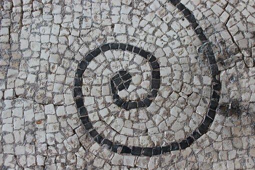 Antique, Mosaic, Rome, Vestige, Archaeology