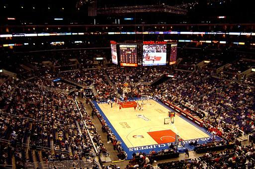 Basketball, Arena, Match, Sport, Game, Lakers, Tribune
