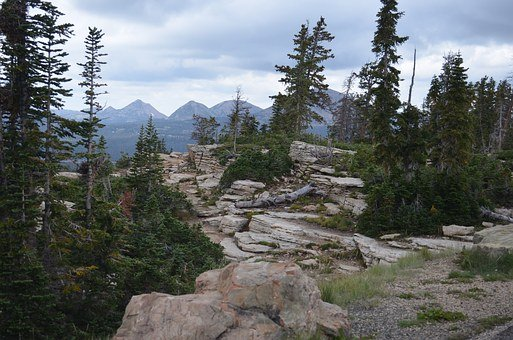 Overlook, Uinta, Mountain, Valley, Wyoming