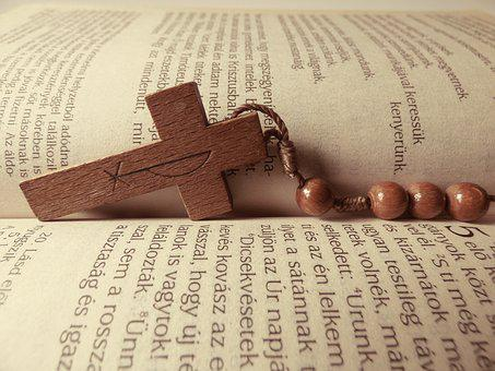 Bible, Cross, Book, Rosary, Reader, Christian