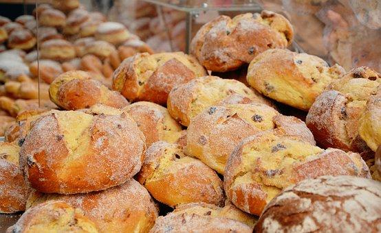 Raisin Bread, Bread, Bakery, Bake, Crusty, Sugar Bread