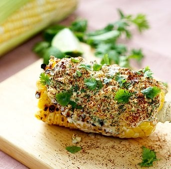 Mexican, Corn, Food, Meal, Lunch, Cilantro, Tasty