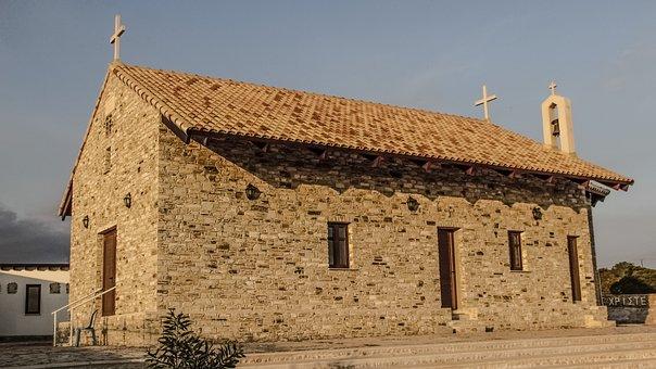 Cyprus, Ayia Napa, Ayios Arsenios Paisios, Church