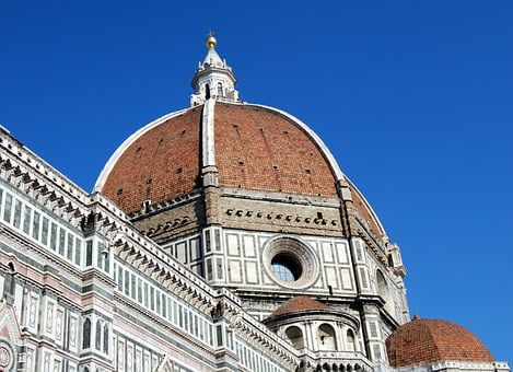 Dome, Duomo, Cathedral, Brunelleschi, Florence, Tuscany