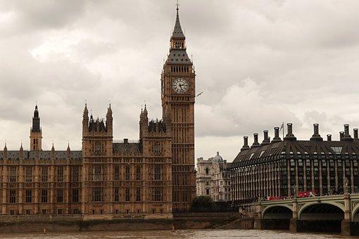 London, Bigben, Trip, Tower, England, Church Clock