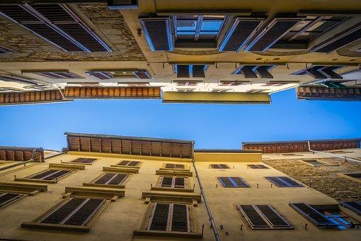 Europe, Italy, Tuscany, Florence, Firenze, Sky, Old
