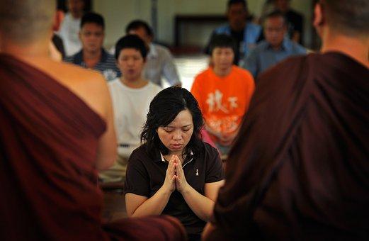 Theravada Buddhism, Homage, Faithfully, Respectfully