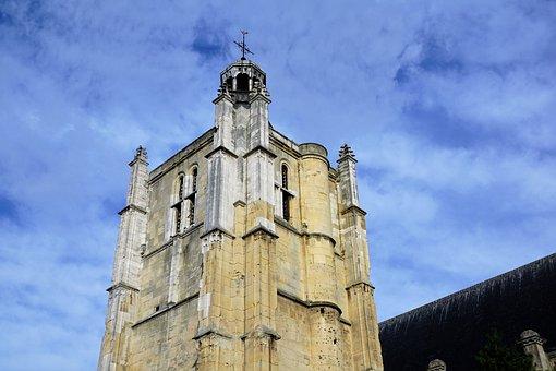 Le Havre, City, France, Church, Tower, Catholic, Faith