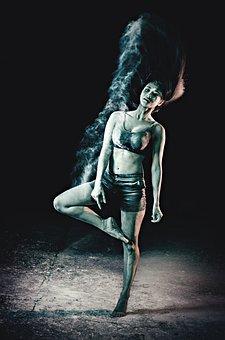 Dance, Ballet, Powder, Girl, Dancer, Art, Beautiful