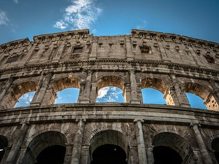 Colosseum, Rome, Italy, Landmark, Architecture, Europe