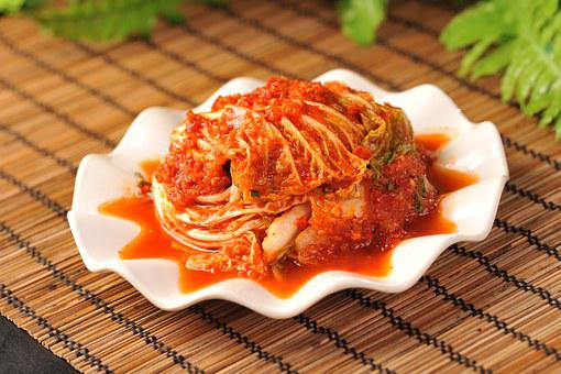 Korean Cabbage In Chili Sauce