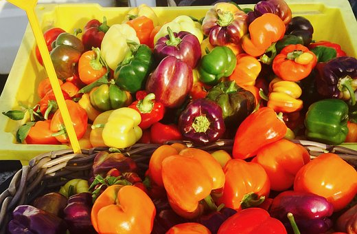 Farmers Market, Local, Organic, Produce, Colorful