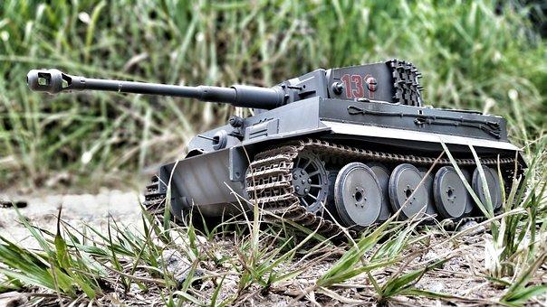 Toy, Tank, Miniature, War