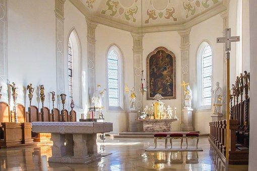 Horb, Horb Am Neckar, Collegiate Church, Neckar, Altar