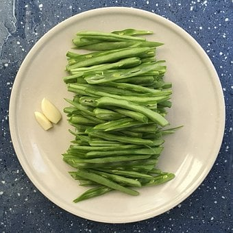 Wobble, Overlook, Round, Beans, Sauted French Beans