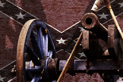 Cannon, Southern States, Usa, Kanonem Civil War