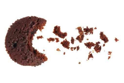 Cookies, Cake, Still Life, Studio Shot, Brown, Circle