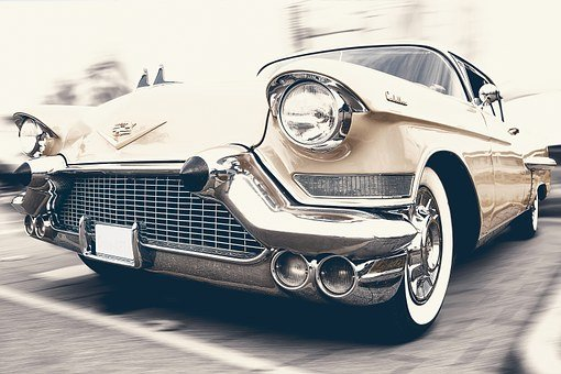 Auto, Car, Cadillac, Oldtimer, Automotive, Vehicle
