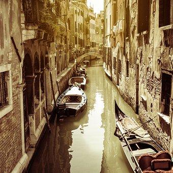 Venice, Veneto, Italy, Laguna, Holidays, Canal