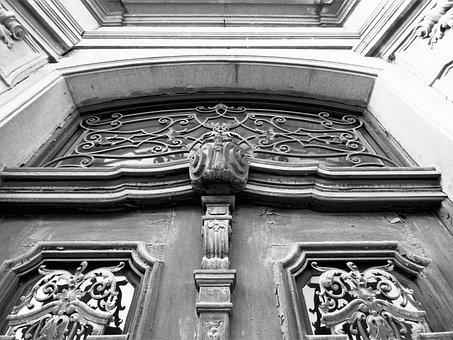 Gate, Entrance, Old, Wood, Monument, Old Door