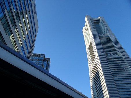 Japan, Yokohama, Landmark, Tower, Port, Minatomirai