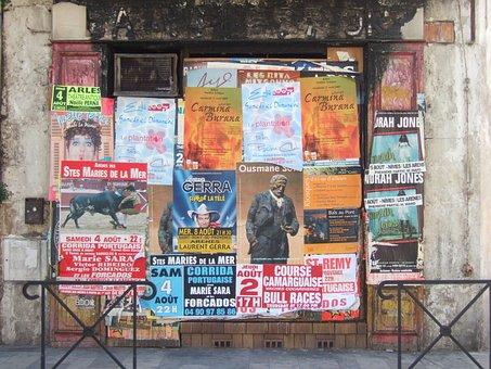 Posters, Wall, Graffiti, Advertising, Marketing