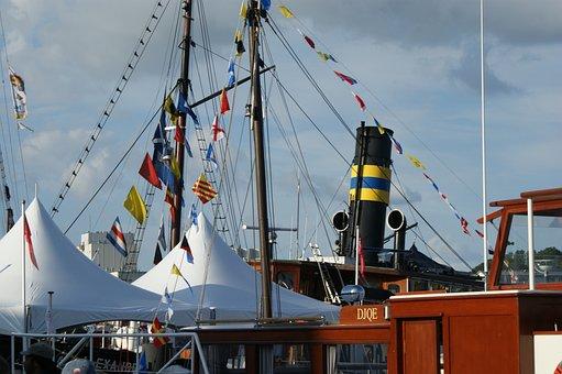 Flensburg, Alex, Alexandra, Harbour, Seadays, Ships