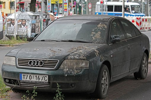 Audi, Audi A6, Parking, Berlin, Park Place Election
