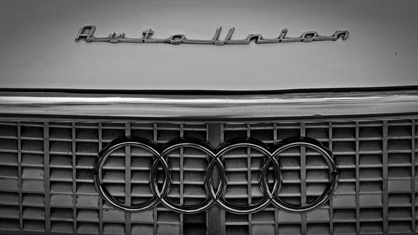 Brand, Symbol, Auto Union, Audi, Rings, Characters