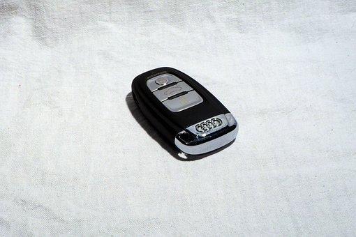 Car Keys, Audi, Open, Open Door, Key, Metal, Vehicle