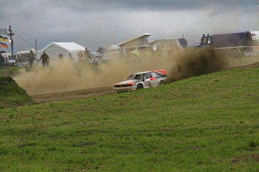 Autocross, Motorsport, Auto, Audi, Quattro, Coupe, Race