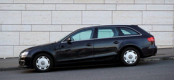 Audi, A4, Avant, Combi, Black, Pkw, Auto, Automotive