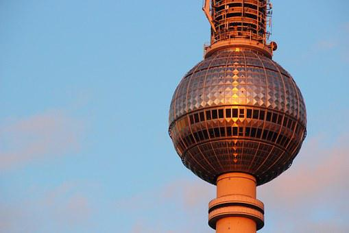 Tv Tower, Berlin, Alexanderplatz, Alex, Ball
