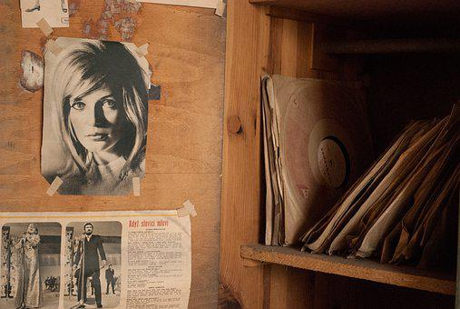 Cabinet, Poster, Boards, The Record For Ya, Newspaper