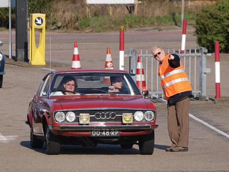 Audi 100, Coupe, Oldtimer, Classic, Car, Carshow