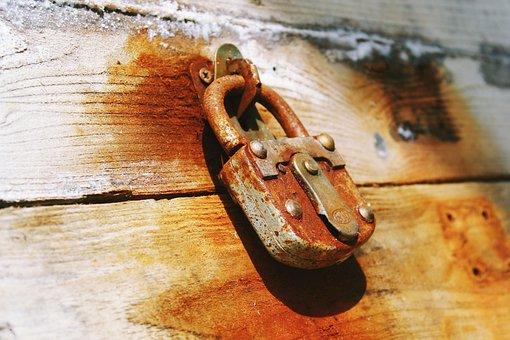 Castle, Padlock, Metal, Capping, Secure, Rust