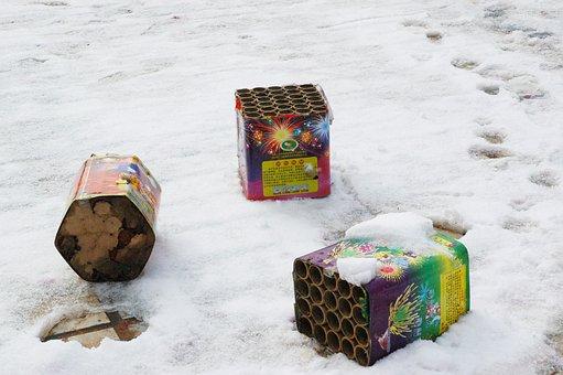 Fireworks, Firecracker, Winter, Celebration, Holiday